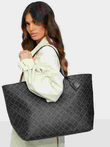 Shoppa By Malene Birger ABI TOTE Charcoal | Vesker