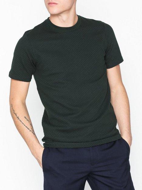 Premium by Jack Jones Jprchris Bla. Tee Ss Crew Neck T shirts undertrøjer Scarab - herre