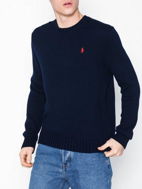 Polo Ralph Lauren Long Sleeve Sweater Trøjer Blue - herre