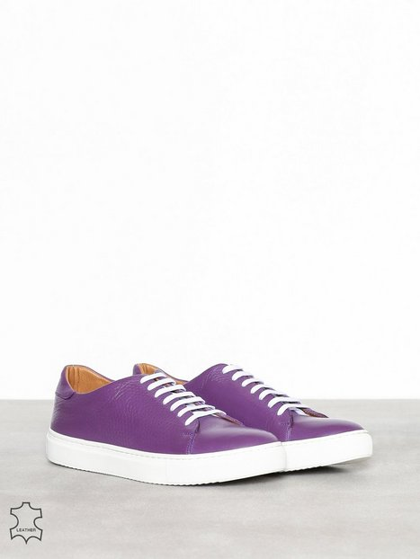 Human Scales Henry grained 191 Sneakers Purple - herre