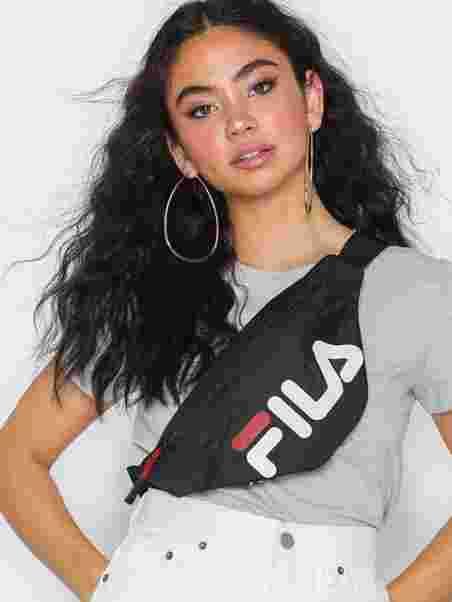 Köp Fila Waist Bag Slim Black | Väskor