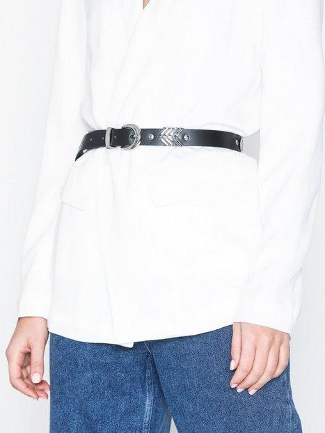 Billede af Pieces Pcbliss Leather Jeans Belt Bælter