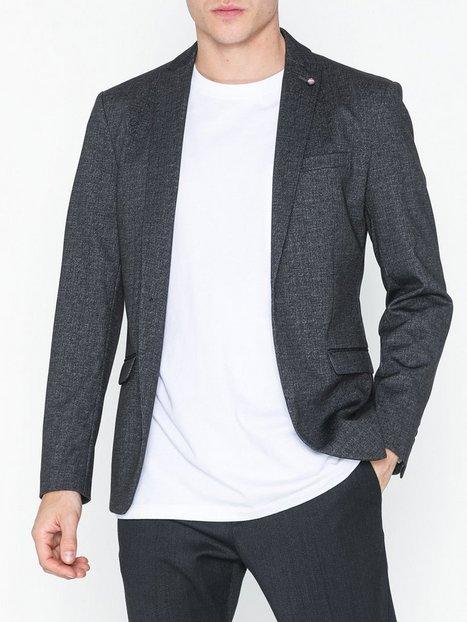 Selected Homme Slhslim Fred Blazer B Blazere jakkesæt Grå - herre