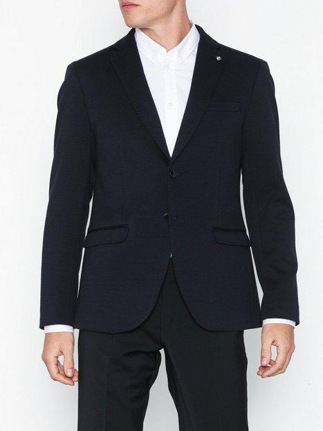 Selected Homme Slhslim Shaft Blazer B Noos Blazere jakkesæt Mørkeblå mand køb billigt