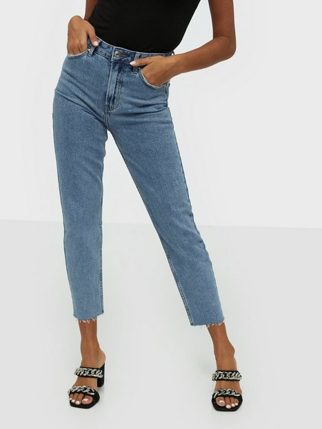 Only onlEMILY Hw St Raw Jeans Bb Lb Mae