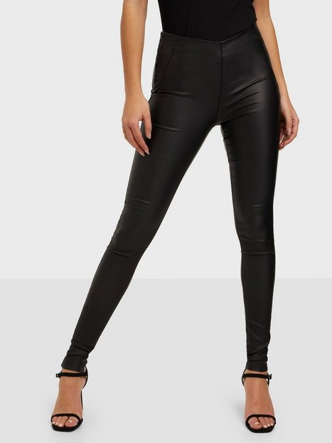 Object Collectors Item Objbelle Mw Coated Leggings Noos Bukser