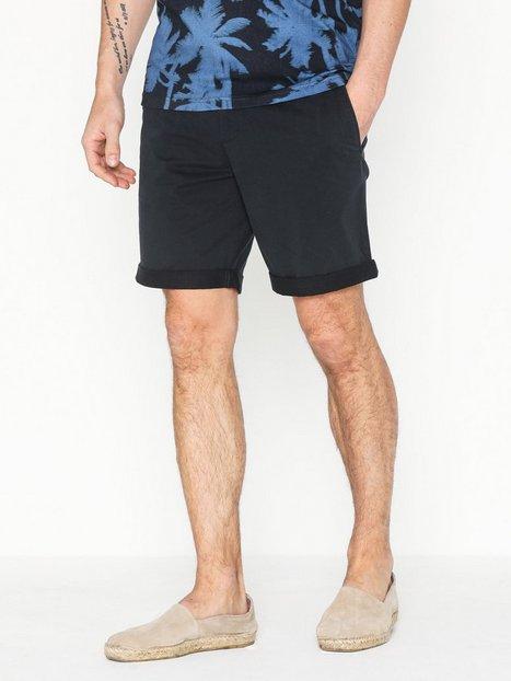 J Lindeberg Nathan Super Satin Shorts Navy - herre