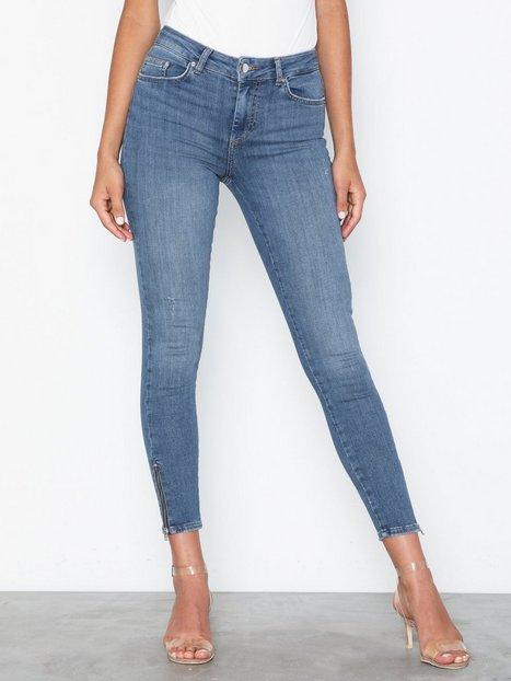 Billede af Pieces Pcdelly Dlx Mw Skn Cr LB124-Ba/Noos Jeans