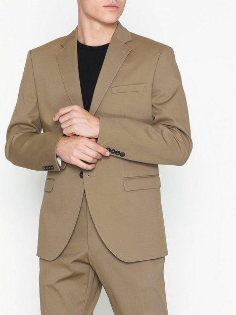 Selected Homme Slhslim Myloal Sand Blazer B Blazere jakkesæt Lysebrun - herre