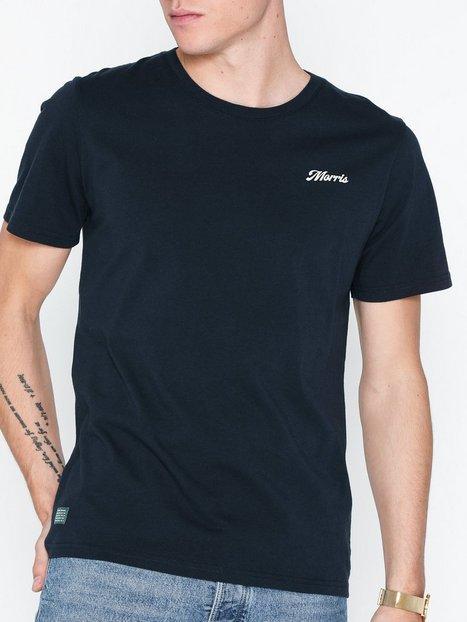 Morris Jones Tee T shirts undertrøjer Blue - herre