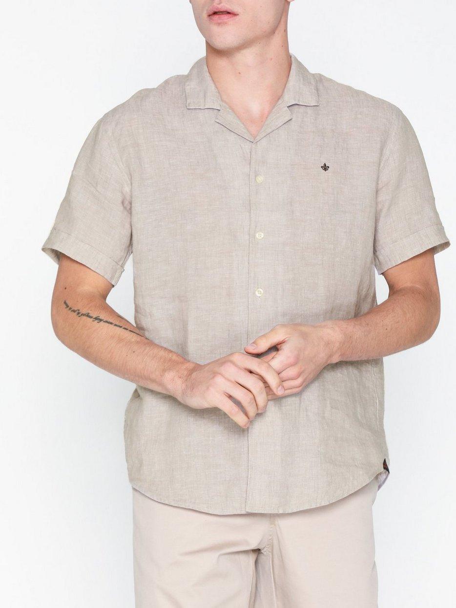 Harper Bowling Linen Shirt