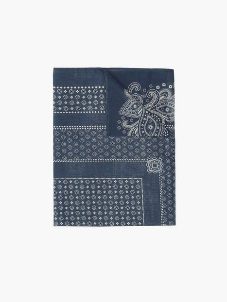 Morris Drake Bandana Halstørklæder scarves Blue - herre
