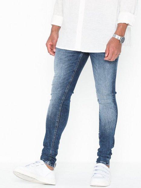Jack & Jones Jjitom Jjoriginal Jos 510 50SPS Noo Jeans Blå