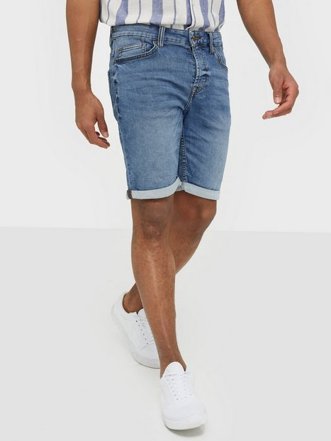Only Sons onsPLY Sw Blue Shorts Pk 2019 Noos Shorts Blå - herre