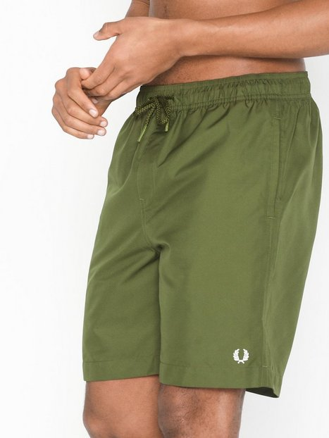 Fred Perry Textured Swimshort Badetøj Cypress - herre