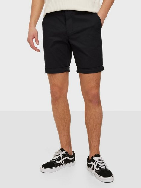 Selected Homme Slhstraight-Paris Shorts W Noos Shorts Sort