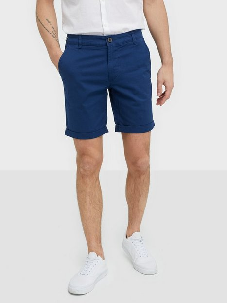 Selected Homme Slhstraight-Paris Shorts W Noos Shorts Blue