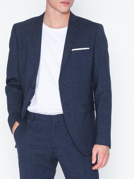 Selected Homme Slhslim Buffalooasis Navy Blazer B Blazere jakkesæt Mørkeblå - herre