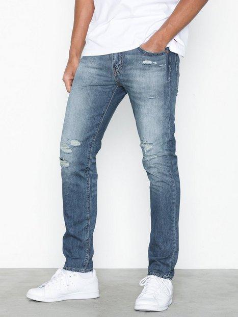 Levis 512 Slim Tapered Fit Jeans Denim - herre