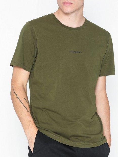 NN.07 Ethan Print Tee 3208 T shirts undertrøjer Army mand køb billigt