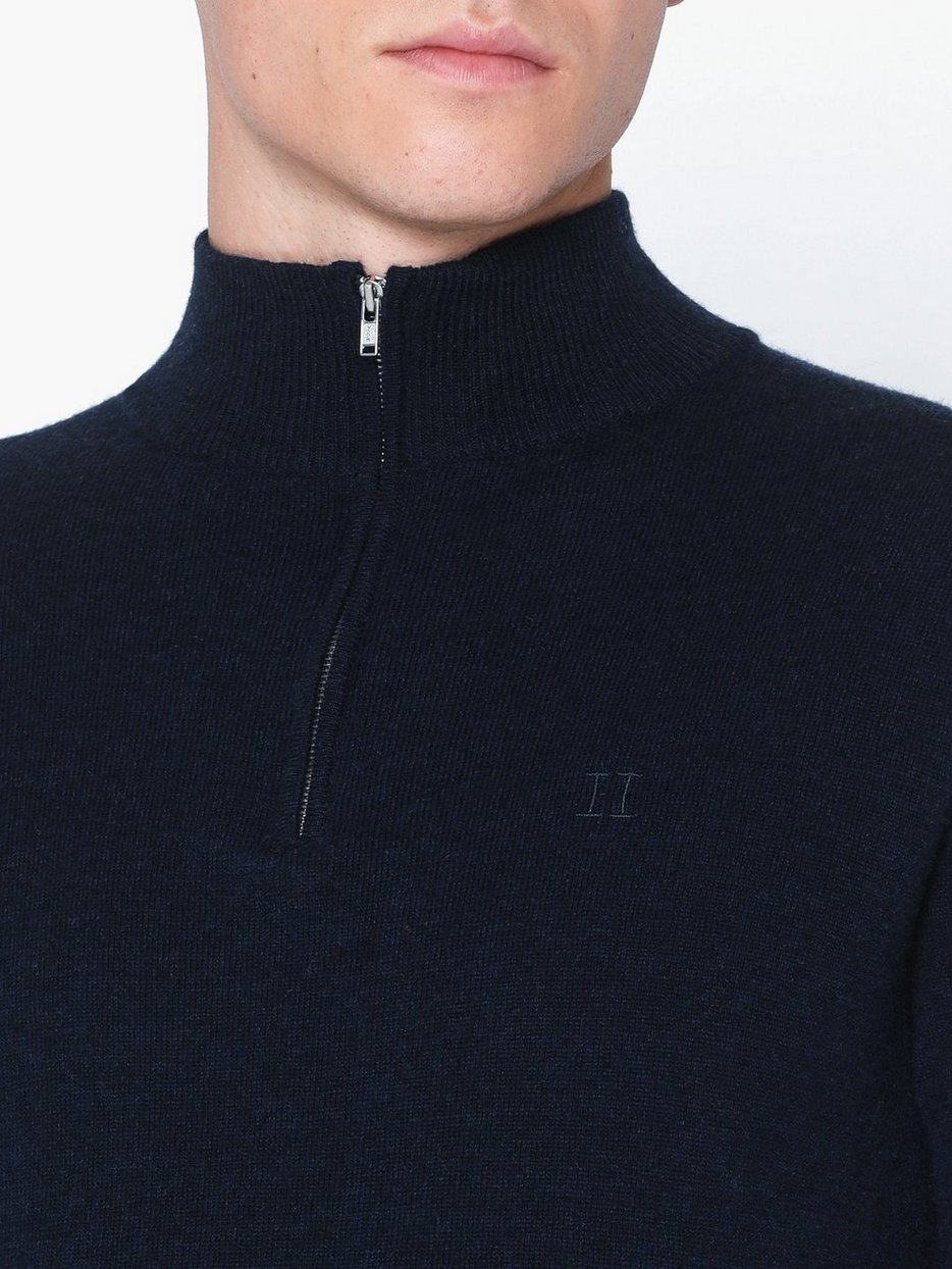 Cashmerino Zipper Knit