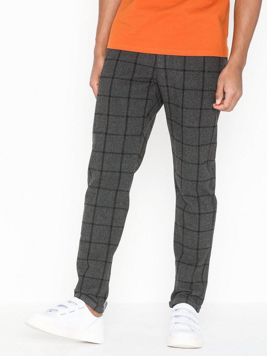 Como Wool Check Pants