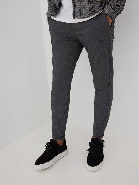 GABBA Pisa Jersey Pant Bukser Light Grey Melange