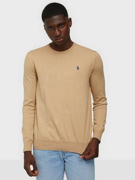 Polo Ralph Lauren Long Sleeve Sweater Trøjer Camel - herre