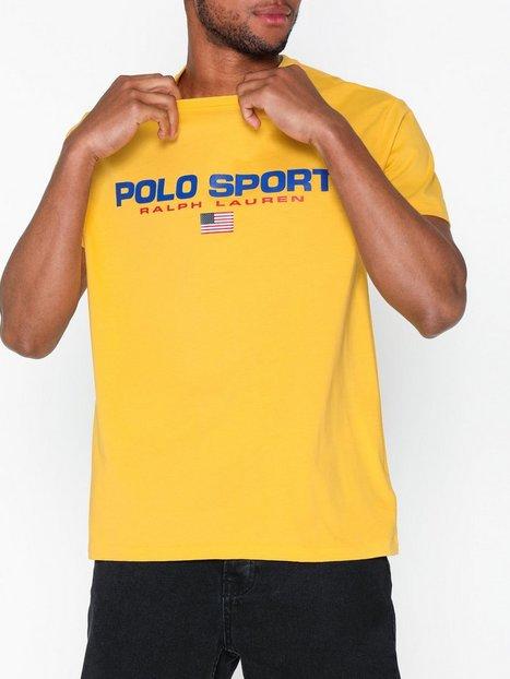 Polo Ralph Lauren Short Sleeve T shirt T shirts undertrøjer Yellow - herre