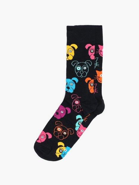 Happy Socks Cat VS Dog Gift Box Strømper Mønstret - herre