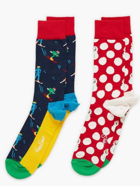 Happy Socks Christmas Gift Box Strømper Mønstret - herre