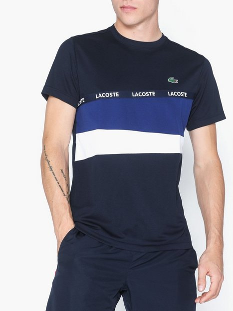 Lacoste T Shirt T shirts undertrøjer Navy - herre