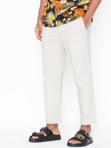 Only Sons onsLINUS Wide Leg Cropped Md 2993 Bukser Offwhite - herre