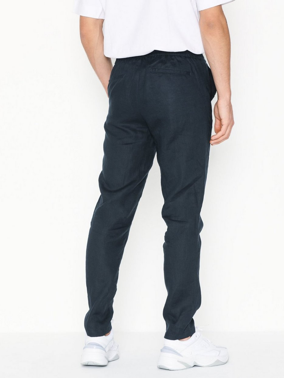 SLHTAPERED-LINEN PANTS B