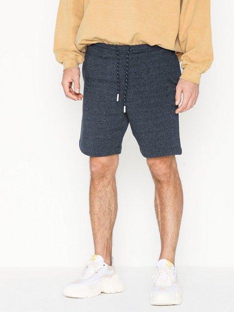 Selected Homme Slhsimon Sweat Shorts W Shorts Mørkeblå - herre
