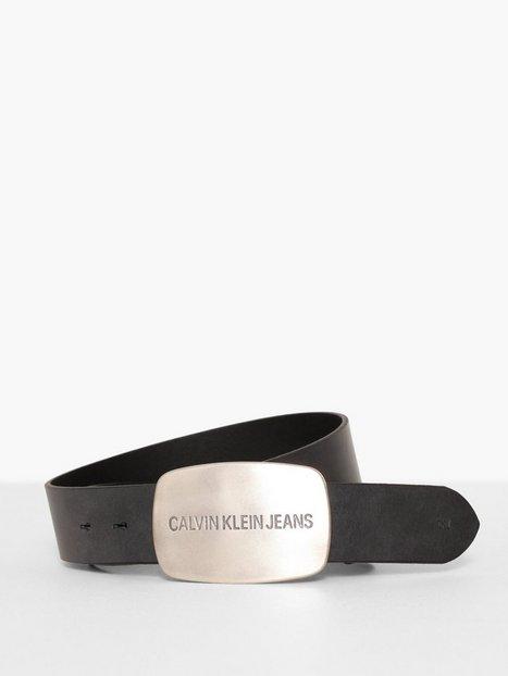 Calvin Klein Jeans J 4CM Dallas Belt Bælter Sort - herre