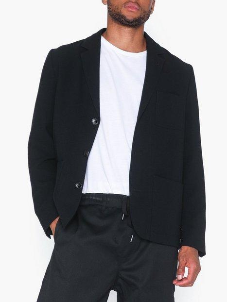 Filippa K M. Mitch Crepe Jacket Blazere jakkesæt Black - herre