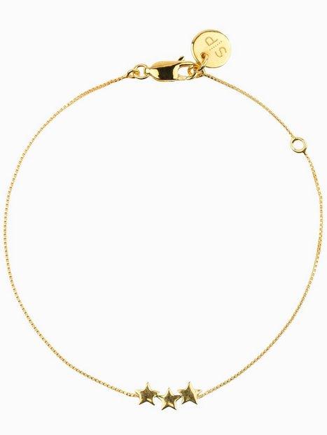 Syster P Snap Bracelet Plain Triple Star Armbånd