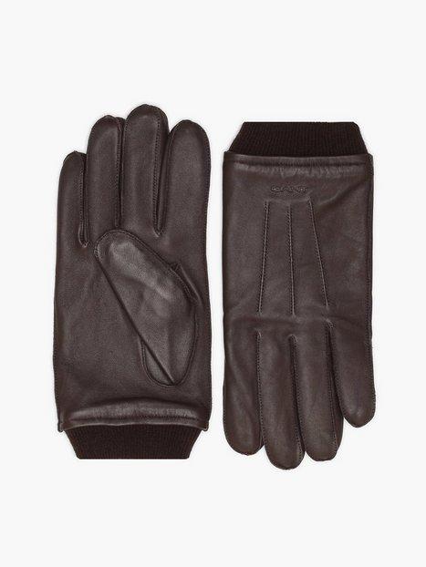 Gant D2. Leather Gloves Handsker vanter Java - herre