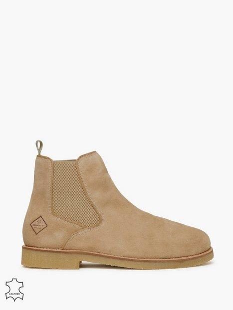 Gant Barkley Chelsea Chelsea boots Camel - herre