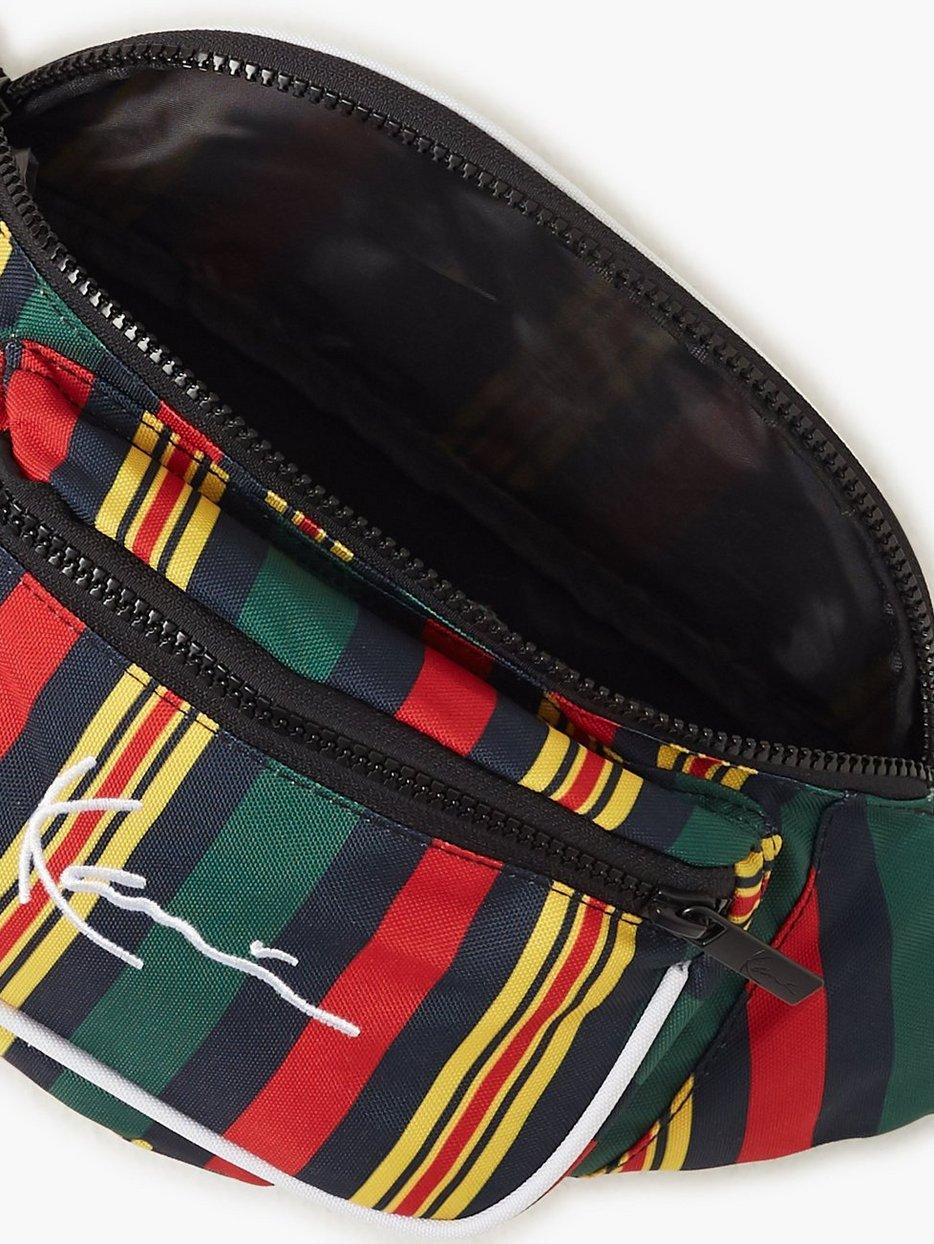 KK Signature Stripe Waist Bag