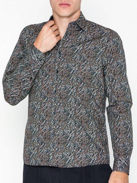 Tailored Originals Shirt Newton Skjorter Insignia Blue mand køb billigt