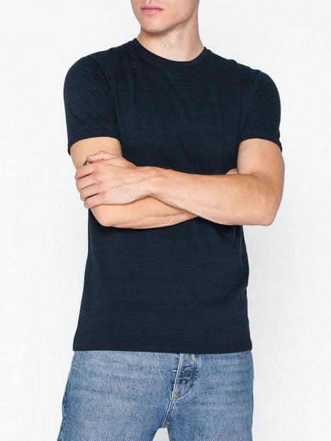 Tailored Originals T Shirt Fenwich T shirts undertrøjer Navy mand køb billigt