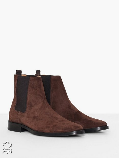 Tiger of Sweden Brake S Chelsea boots Dark Brown - herre