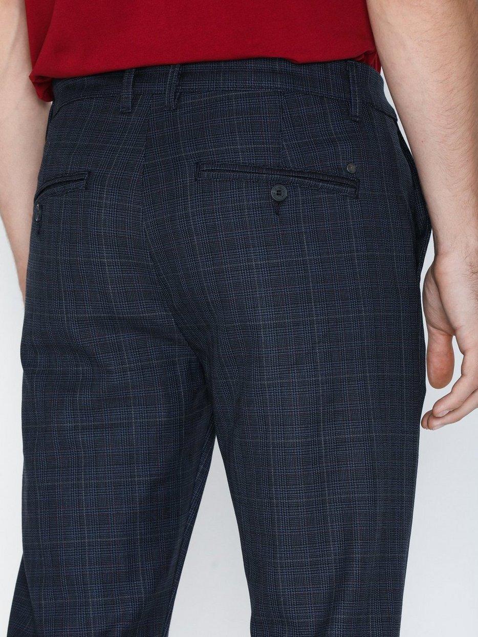 Rome Blue Check Pants