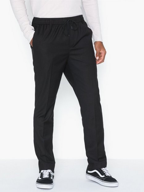 GABBA Philip Black Pants Bukser Black - herre