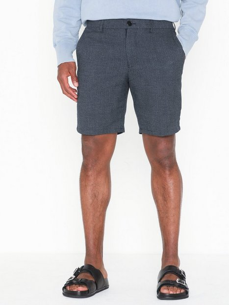 Selected Homme Slhstraight Tailored Shorts B Shorts Mørkeblå - herre