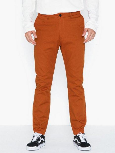 Elvine Crimson Pant Bukser Brick mand køb billigt