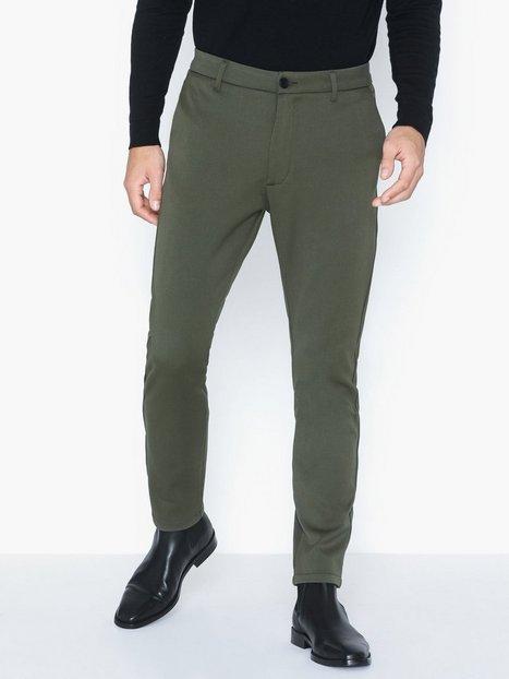 Elvine Crimson Stretch Pant Bukser Silver Green - herre