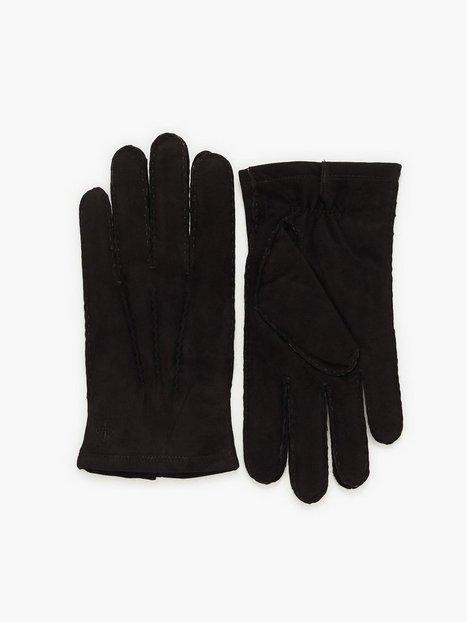 Morris Morris Suede Gloves Handsker vanter Black - herre